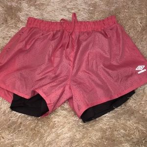 Umbro Shorts - Umbro Shorts with compression liner